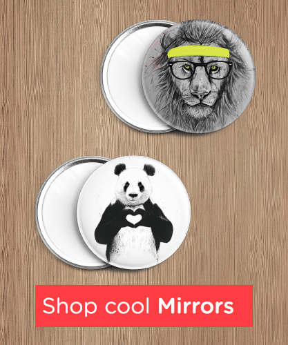 shop cool mirrors