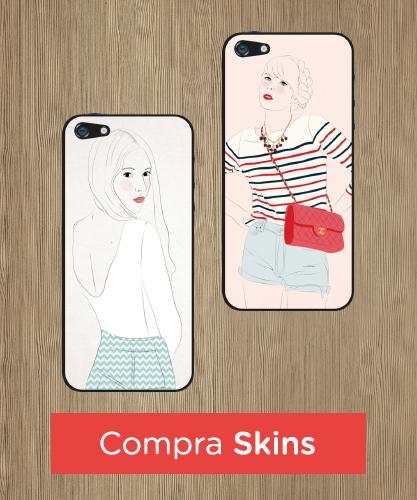 Skin per iPhone con disegni