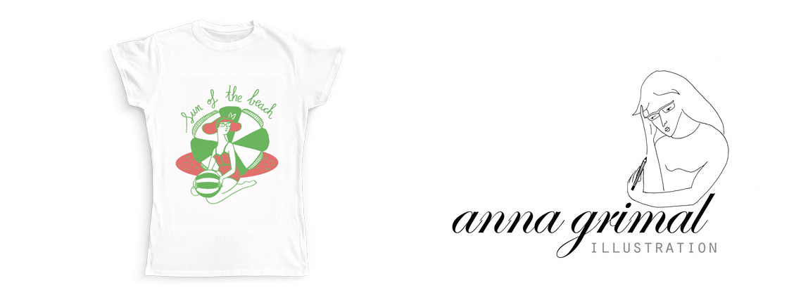 T-shirt Anna Grimal