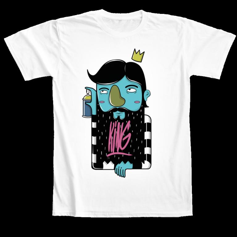 T-shirt King Camaloon Pablo Chiang