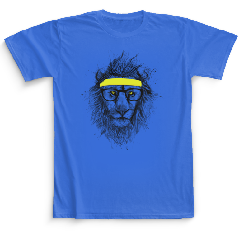 T-shirt Hipster lion Camaloon