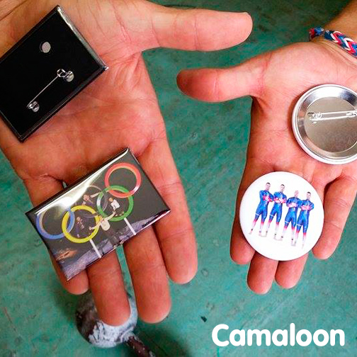 Badges Camaloon Bobsleigh France