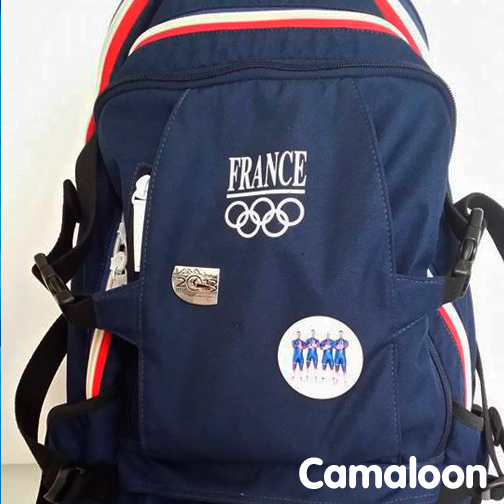 Badges Camaloon French Team Bobsleigh