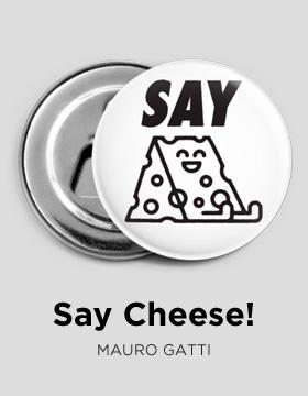 Say cheese Bottle-opener Camaloon