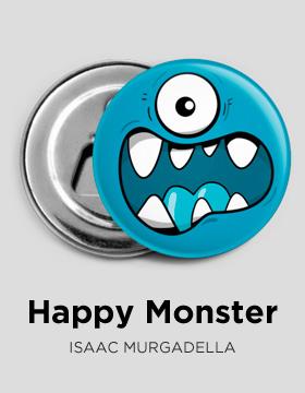 Happy monster bottle-opener Camaloon