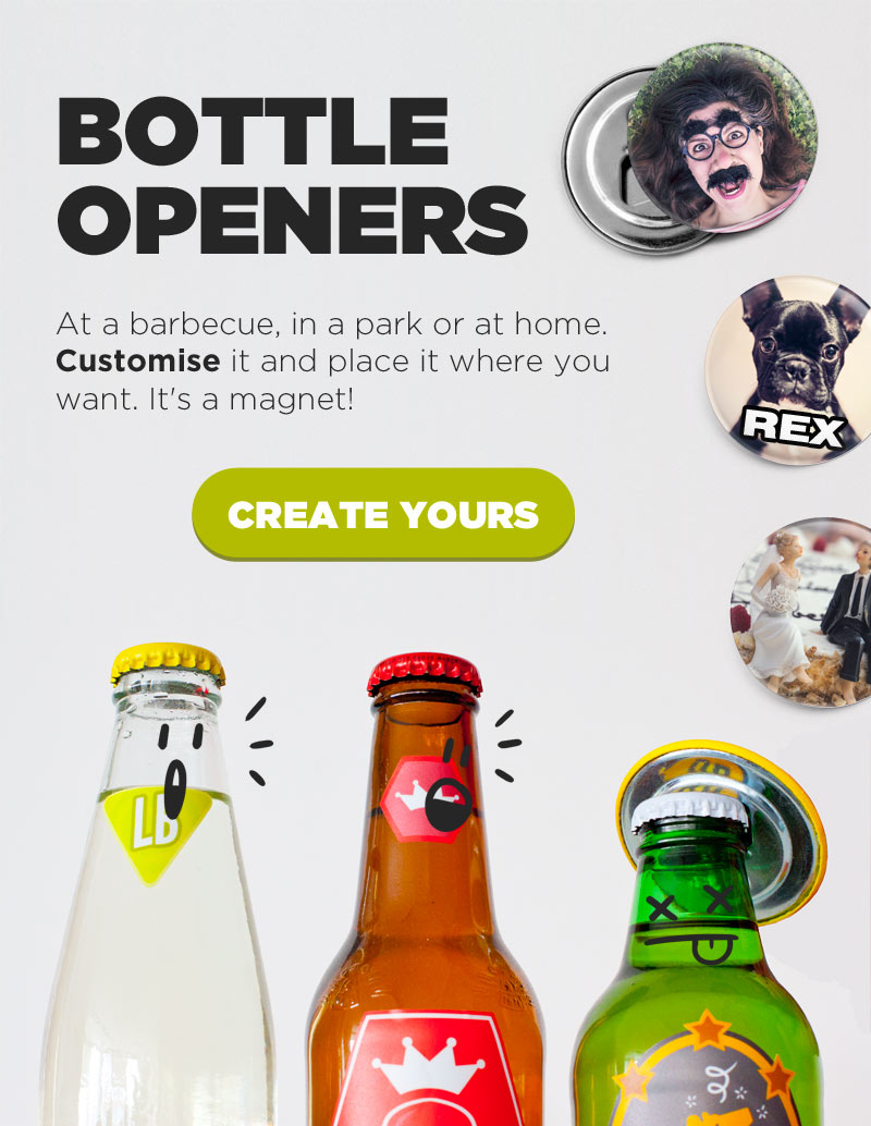 Bottle openers Camaloon