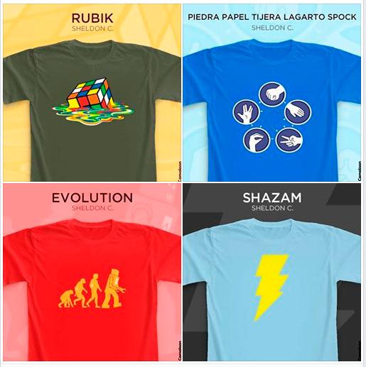 camisetas sheldon cooper the big bang theory comprar bazinga sheldon