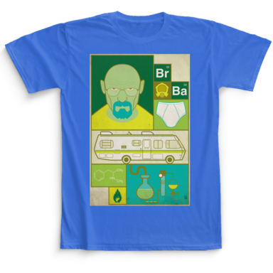 Breaking Bad Camaloon TV T-shirts