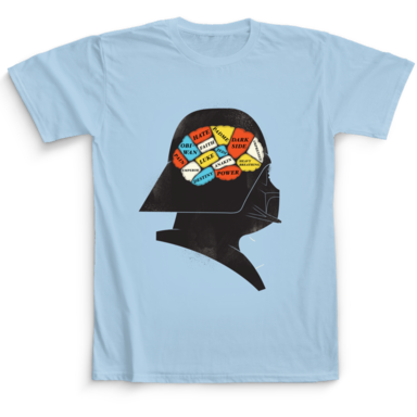 Darth Vader Camaloon TV T-shirts