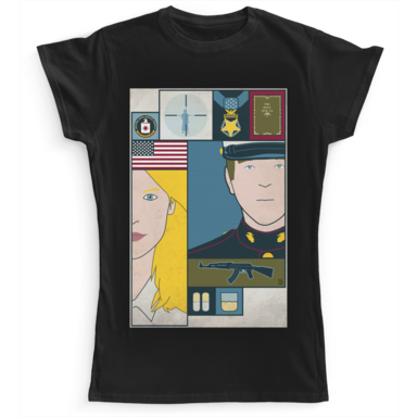Homeland Camaloon TV T-shirts