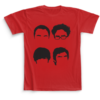 The Big Bang Theory Camaloon TV T-shirts