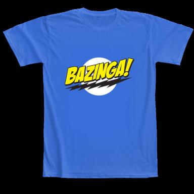 camiseta bazinga comprar madrid españa sheldon cooper big bang theory diseño online