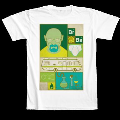 T-shirts Breaking Bad Camaloon