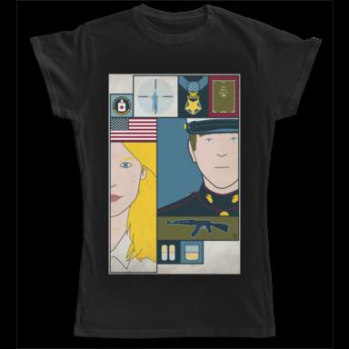 T-shirt Homeland Camaloon