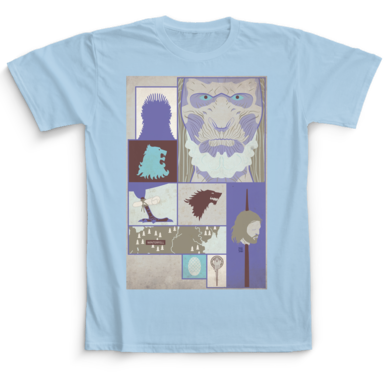T-shirt Game of Thrones Camaloon