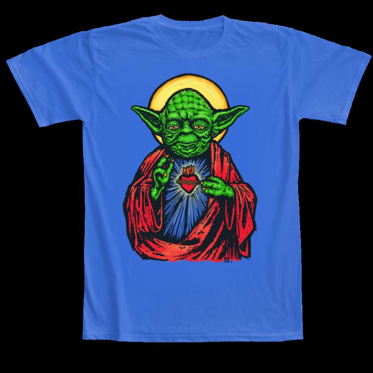 T-shirt Yoda Camaloon