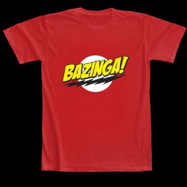 T-shirt Camaloon Bazinga
