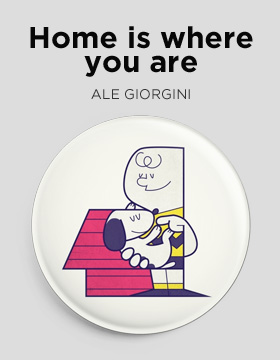 Home is where you are Camaloon badge