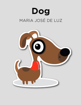 Sticker Dog Camaloon