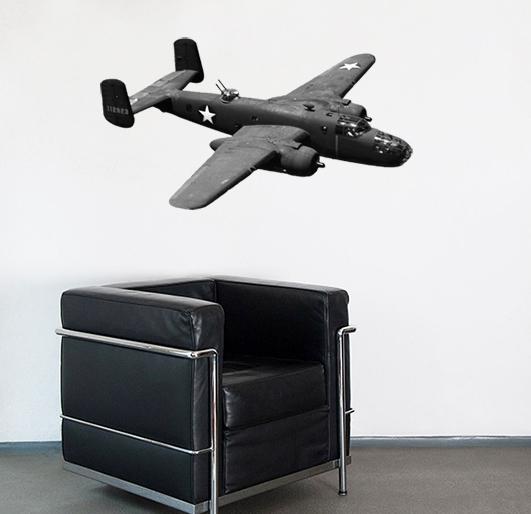B-25 War Plane from Sebastian Bieberle´s Camaloon Gallery