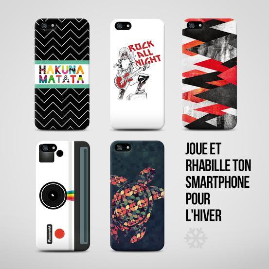 Concours Facebook: Rhabille ton portable avec Camaloon