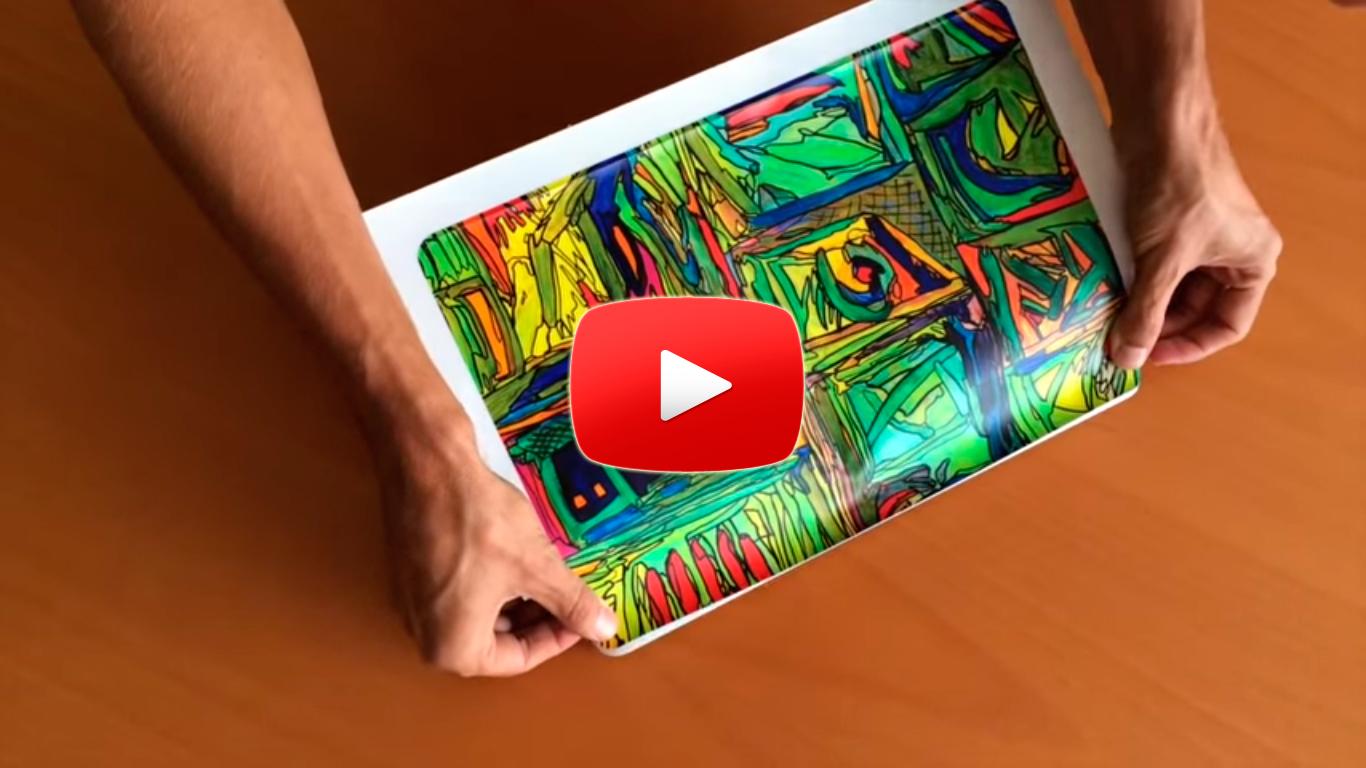 How To: Anbringen von einem Camaloon Skin
