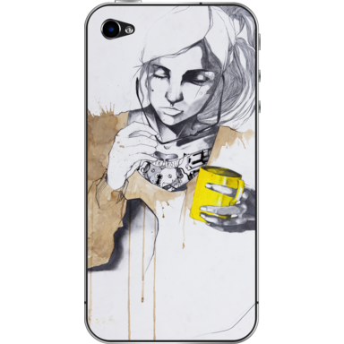 Yellow Artwork available on Camaloon for iPhone & iPad skin