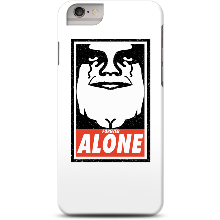 Obey alone case for iPhone 6