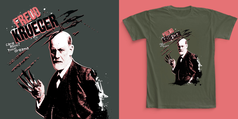 Freud Kreuger T-shirt